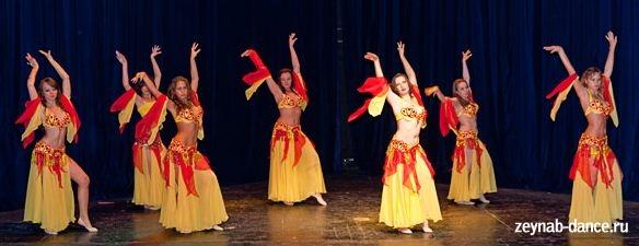 Зейнаб.Обучение восточным танцам в Москве.