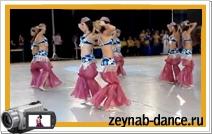 Чемпионат России 2007 г. Шоу Беллиданс. Танец с Бубном.