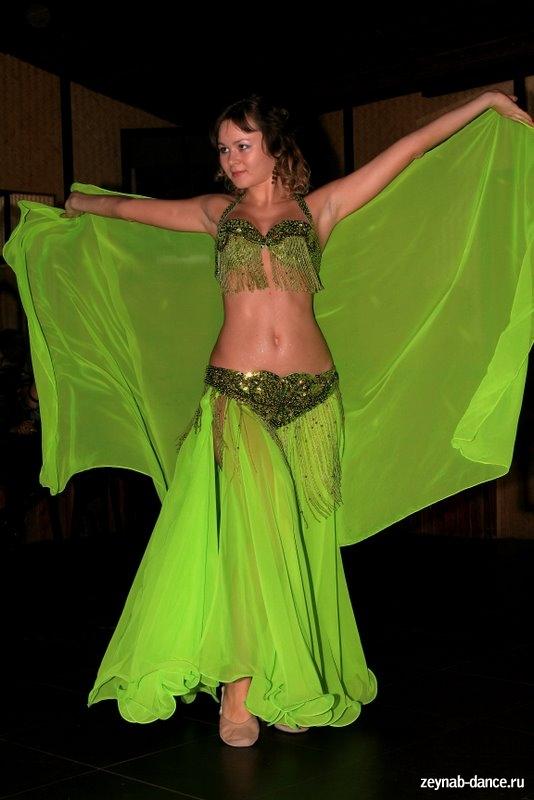 обрамления танца;