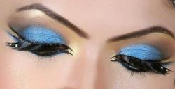 Арабский макияж: красим глаза.